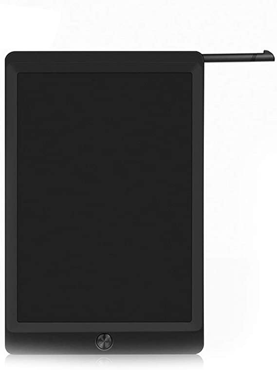 LCDライティングタブレット10インチカラフルなデジタル電子グラフィックタブレットポータブルボード手書き ペン&タッチ マンガ・イラスト制作用モデル (Color : Black)