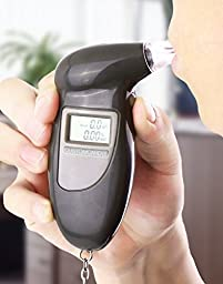 TOOGOO(R) Digital Alcohol Breath Tester Analyzer Breathalyzer with LCD display Keychain