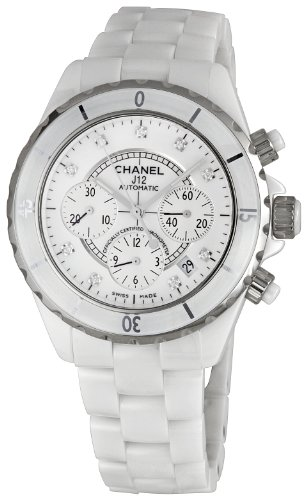 Chanel Men's H2009 Chanel J12 Sport White Dial Watch