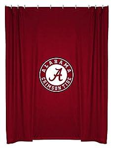 Awesome NCAA Alabama Crimson Tide Shower Curtain