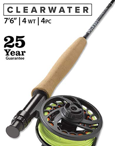(Orvis Clearwater 4-Weight 7'6