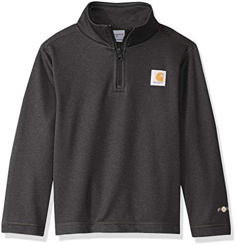 - Carhartt Boys' Big' Long Sleeve Sweatshirt, Dark Gray, L-14/16