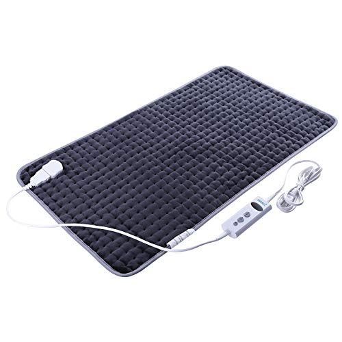 - XXX-Large Heating Pad for Pain Relief, FDA Approved Moist and Dry Heat Therapy, 10 Electric Temperature Levels with Auto-Off, Fast Alleviate Muscle Cramps and Soreness, 33
