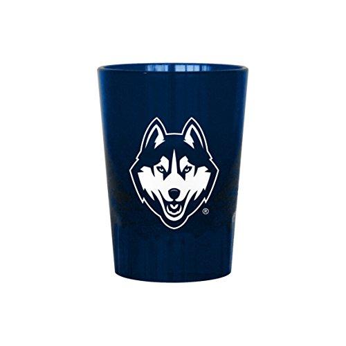 Boelter Brands NCAA Connecticut Huskies Plastic Shot Glass, 2-Ounce