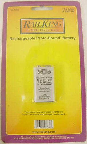 M.T.H. Electric Trains Protosound Battery, 8.4V