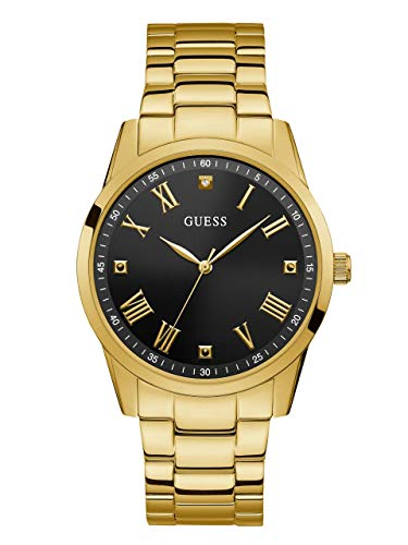 GUESS Men's Quartz Stainless Steel Watch, Color:Gold-Toned (Model: U1194G3)