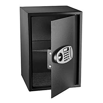 Image of Home Improvements AdirOffice Security Safe with Digital Lock, Black, 2.32 Cubic Feet
