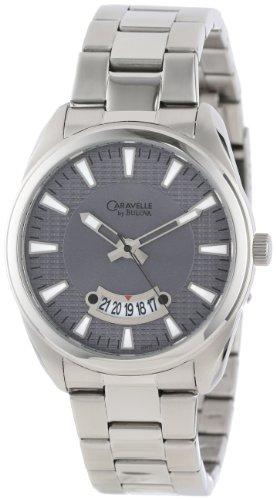 Caravelle by Bulova Men's 43B126  Round Bracelet (Caravelle Mens Bracelet)