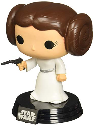 Funko - POP! Bobble Coleccion Star Wars - Figura Princesa Leia (2319)