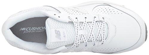 New Balance Womens WW411WT2 Walking Shoe, White, 36 2A(N) EU