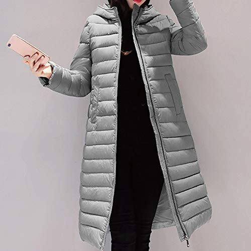 Amazon.com: Womens Coats Winter Clearance!Besde Womens Fashion Casual Warm Lightweight Solid Hooded Outwear Warm Coat Long Thicker Cotton Parka Slim ...