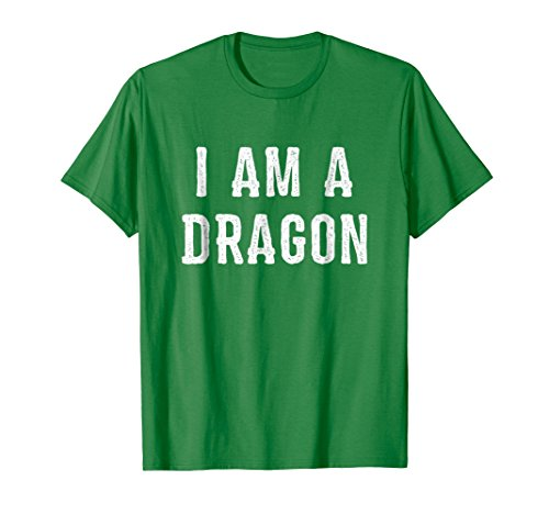 Mens I Am a Dragon Halloween T Shirt