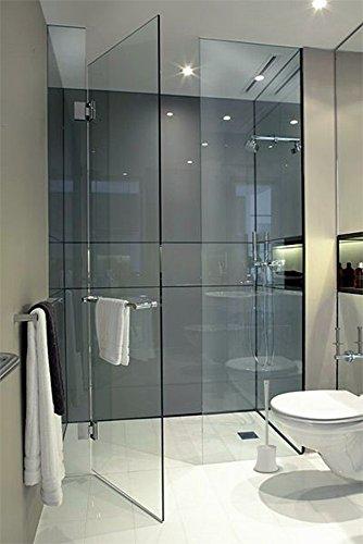 Leakproof Toilet Brush Set - bathroom