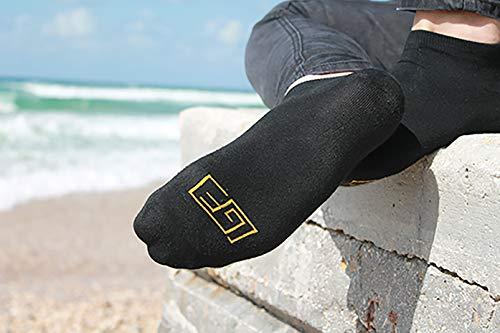 Golden Feel Bamboo Men Socks (White), Medium