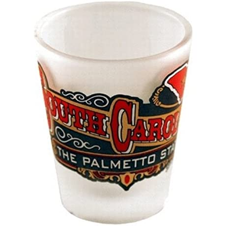 South Carolina Shot Glass 2 25H X 2 W Frosted Ban 96 Pieces