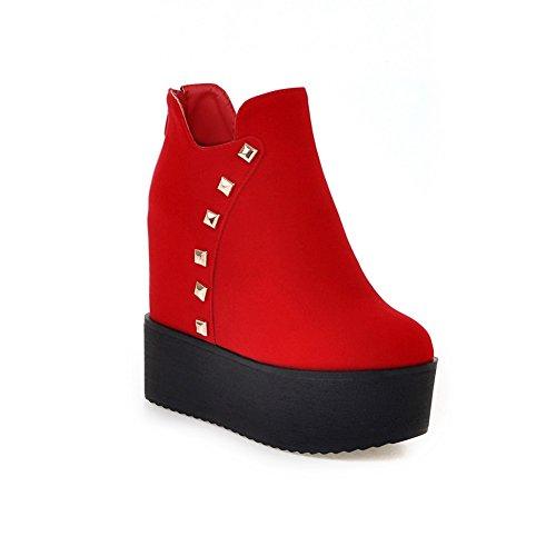 Rouge femme Compensées BalaMasa Abl09837 Sandales Red TnqwxO08