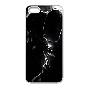 Iron Man In The Dark iPhone 5 5s Cell Phone Case White DIY Gift xxy002_5065091