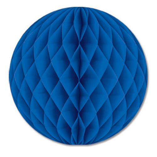 Pkgd Tissue Ball (blue) Party Accessory  (1 count) (1/Pkg) (Tissue Pkgd)
