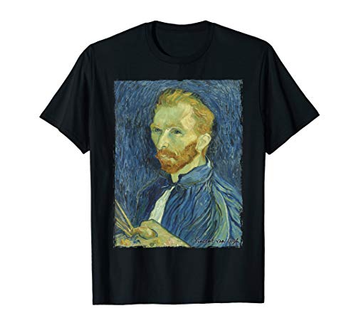 Self Portrait T-shirt - Vincent van Gogh Self-Portrait 1889 Art T-Shirt