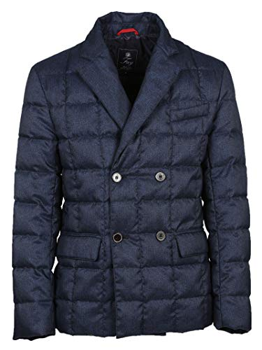 NAM45350450OOZU801 Men's Polyester Jacket FAY Blue Down pSP5nqw