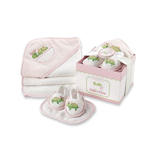 Baby Aspen Babyaspen 4-Piece Bathtime Gift Set 0-6 Months Tillie The Turtle