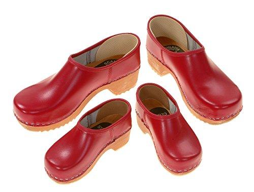 zoccoli Zoccoli Rosso Stipulati Berlin Rot Colore dpwqdB