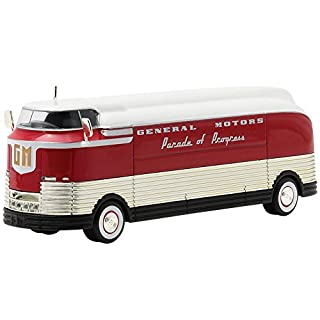 Greenlight 1: 64 Hobby Exclusive - Barrett-Jackson - 1950 General Motors Futurliner Parade of Progress Diecast Vehicle