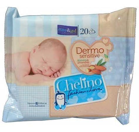 TOALLITAS CHELINO PACK DE 12 SOBRES DE 20 TOALLITAS: Amazon.es ...