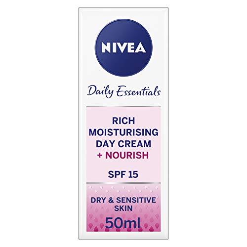 Daily Moisturising Cream - NIVEA® Daily Essentials Rich Moisturising Day Cream SPF 15 50ml