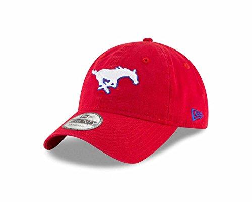 Smu Mustangs (SMU Mustangs New Era 9Twenty Core Adjustable Hat)