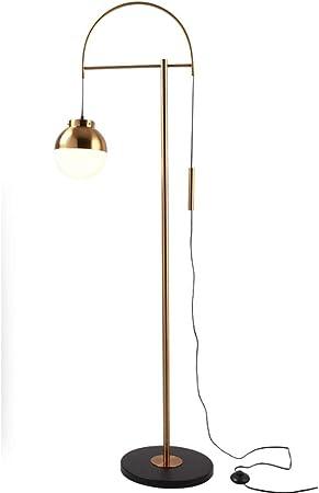 Lámparas de pie LED del Metal del Oro Moderna Lámpara de la Sala de Estar decoración