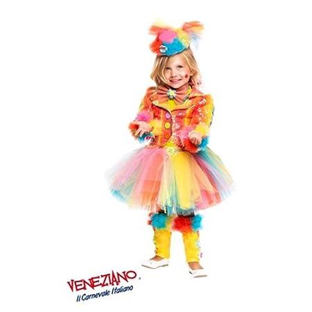 VENEZIANO Veneciano Traje Vestido Traje Disfraz de Carnaval niña ...