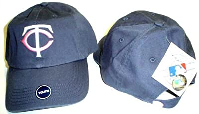 Little Pookie (Navy with Pink) Cap Youth Minnesota Twins Adjustable Hat