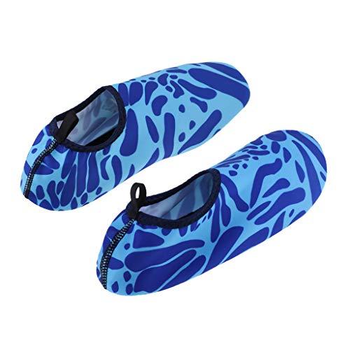 Chaussons De Poids Sport Antidérapante 39 Plage Ipotch Aquatique Et Chaussures L Bleu 38 D'eau Piscine Léger XvEz1q