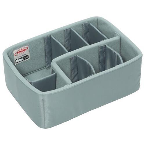 SKB Cases iSeries Storage Organizer iSeries 3i-1309-6 Think Tank Designed Padded Divider Set, Gray (5DV-1309-TT) by SKB Cases