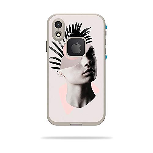 MightySkins Skin for LifeProof FRE iPhone XR Case - Empty Mind | Protective, Durable, and Unique Vinyl Decal wrap Cover | Easy to Apply, Remove, and Change Styles | Made in The USA