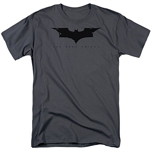 The Dark Knight Cracked Bat Logo Unisex Adult T Shirt For Men and Women