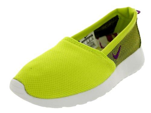 Nike Mujeres Rosherun Slip Venom Verde / Brght Grp / Smmt Wht Mocasines Y Slip-ons Zapato 10 Mujeres Ee. Uu.
