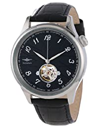 Breytenbach Men's BB33402S-SS Japan Miyota Automatic Open Hearth Watch