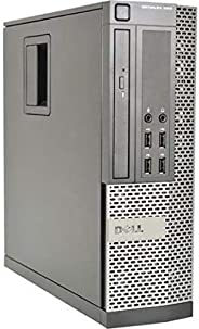 (Renewed) Dell Optiplex 990 Desktop Computer, i7 upto 3.8GHz CPU, 16GB DDR3 Memory, New 512GB SSD, WiFi, Windo