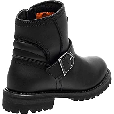 Harley-Davidson Women's Brantley 5-Inch Leather Motorcycle Boots D87144 D87145: Harley-Davidson: Clothing