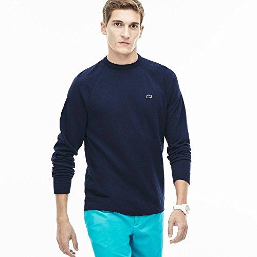 Marine Bleu shirt Sweat Lacoste Homme RqZBYwvZS