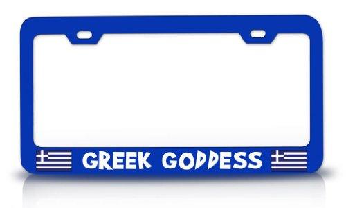 goddess license plate frame - 2