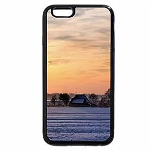 iPhone 6S Plus Case, iPhone 6 Plus Case, wonderful farm in winter
