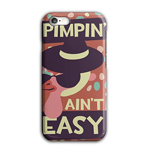 Pimpin Aint Easy Fun Chick Love NEW Black 3D iPhone 7 Case | Wellcoda (Pimps And Hoe Party Costumes)