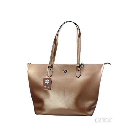 777ma17a Shopping metal not Grande Borsa Y Melody Pelle Bronze Donna Fq1xwxCg