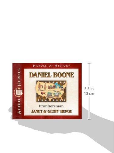 Daniel Boone Audiobook: Frontiersman (Heroes of History)