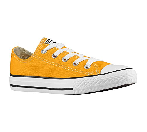 Converse Kid 's Chuck Taylor All Star Estacional Ox Fashion – Camiseta de zapatilla amarillo miel