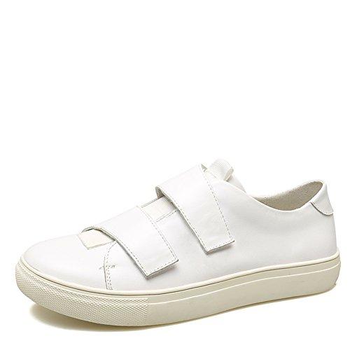 zapatos bajos del cordón de las mujeres/los zapatos de fondo grueso/zapatos con velcro/escogen los zapatos de las mujeres coreanas A