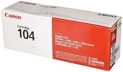 Canon Original 104 Toner Cartridge - Black ()